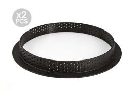 Cercle perforé à tarte composite Ø 150 H 2 CM X2 – Silikomart