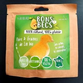 Bonsbecs Poire & graine de lin bio