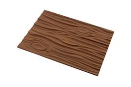 Tapis silicone bûche décor bois 250×185 H 6 MM – Silikomart