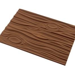 Tapis empreinte silicone bois pour bûche