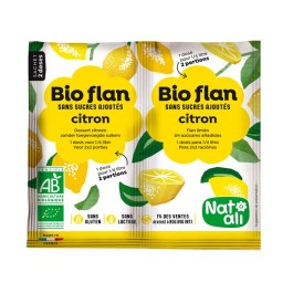 Bio-Flan citron