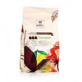Chocolat Tanzanie noir 75% 1kg – Barry