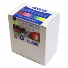 Colorant aérographe 6x25ml – PME
