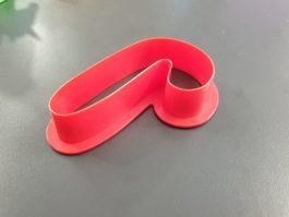 Découpoir emporte-pièce canne rouge – Decora