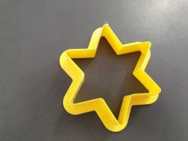 Découpoir emporte-pièce étoile jaune – Decora