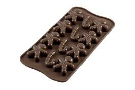 Moule silicone chocolat Mr. Ginger- SCG12 – Silikomart