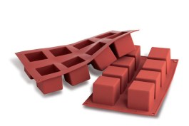 Moule silicone cube 50 x 50 H 50 MM – SF104 – Silikomart
