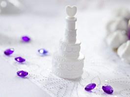 Mini wedding cake bulles de savon x4 – BMT4 – PartyDeco