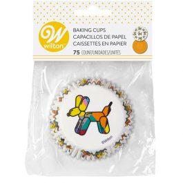 Caissettes à cupcakes chien ballon – 75pcs – Wilton