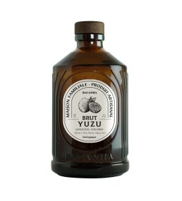 Sirop Yuzu bio bouteille verre 40cl – Bacanha