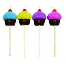 Bougies cupcake x8 – PME