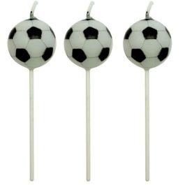 Bougies ballon de foot x4 – PME