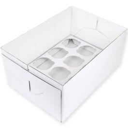 Boite à cupcakes 12 emplacements  32,5 x 22,5 H 14 cm – PME
