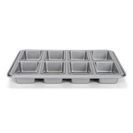 Moule à mini cake ou pain anti adhésif silver top 110 x 60 H 30 mm  – Patisse