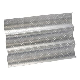 Moule à 3 baguettes anti adhésif silver top 380 x 240 MM – Patisse
