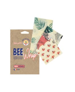 Pack de 3 Emballages Alimentaires Tropical (SML) Beewrap – Anotherway