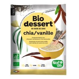 Biodessert chia vanille – Nature & Aliments