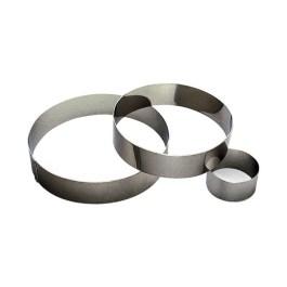 Cercle à mousse inox Ø 60 H45 mm – Gobel Tellier