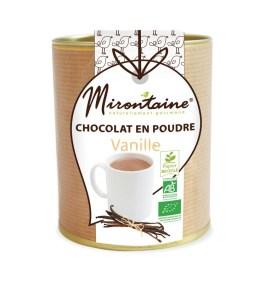 Chocolat en poudre Vanille Bio 200gr – Mirontaine