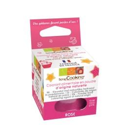 Colorant alimentaire en poudre d'origine naturelle rose 10gr – ScrapCooking