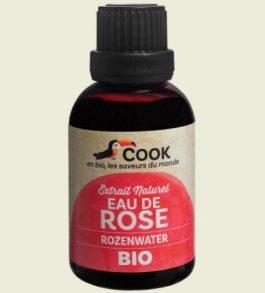 Arôme naturel eau de rose bio 50 ml – Cook