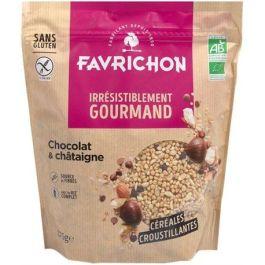Muesli croustillant chocolat châtaigne sans gluten 375g – Favrichon