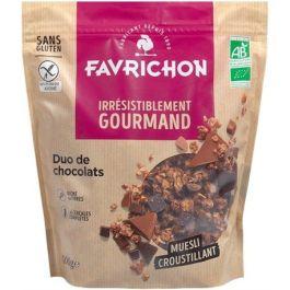 Muesli croustillant duo de chocolat 500g – Favrichon