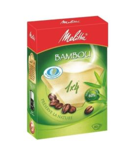 Filtres à café bambou 1×4 x80 – Melitta – Melitta