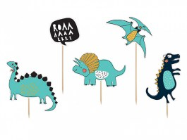 Cake topper Dinosaures party 1 10,5 – 20 CM – KPT31 – PartyDeco