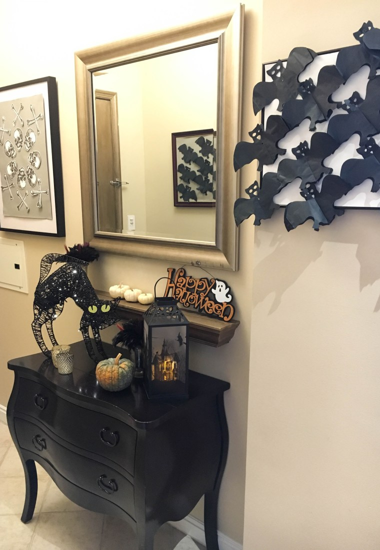 Creating a Spooktacular Entry with Simple DIY Halloween Wall Decor