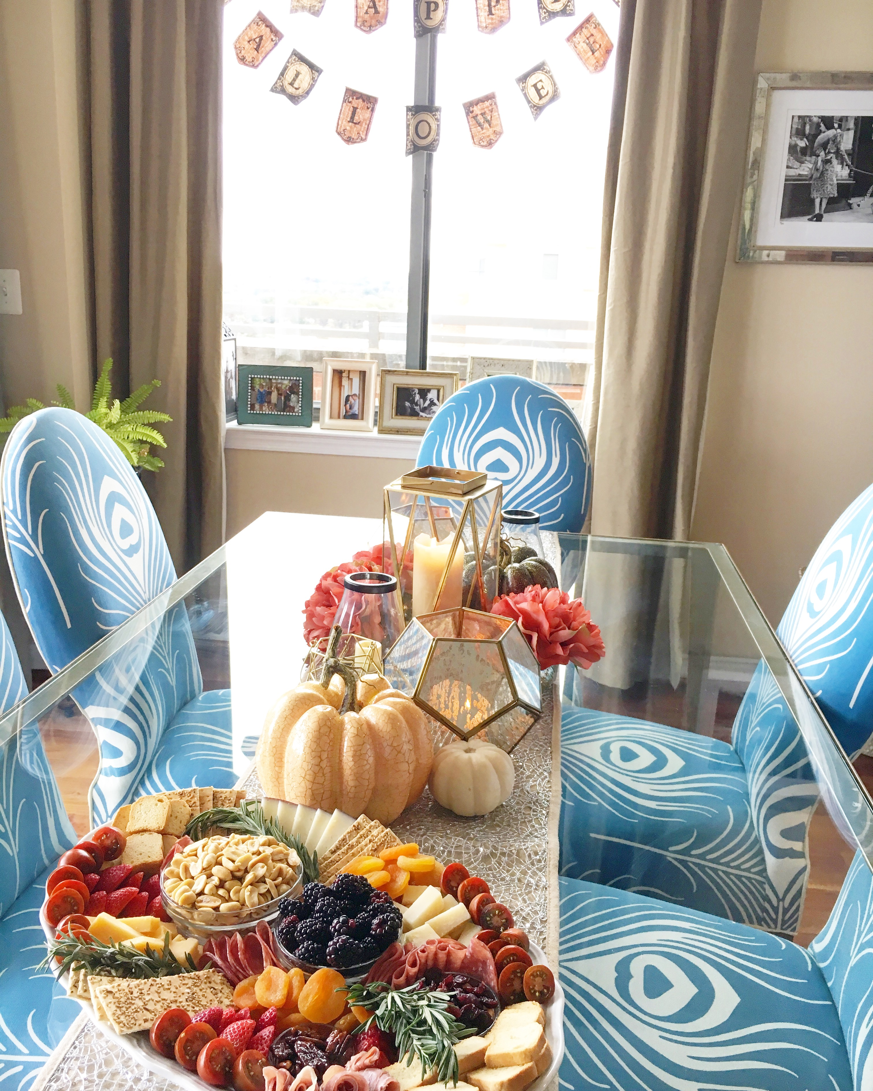 Halloween Entertaining: Go Glam with a Sophisticated Color Palette this Spooky Season