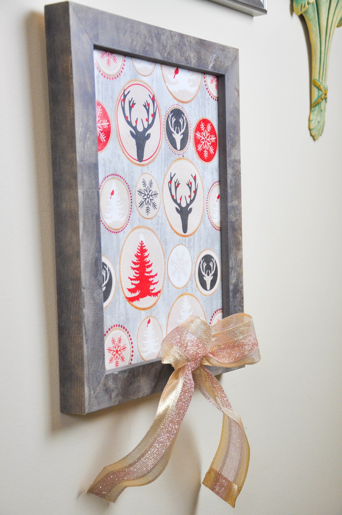 diy-gift-wrap-wall-art