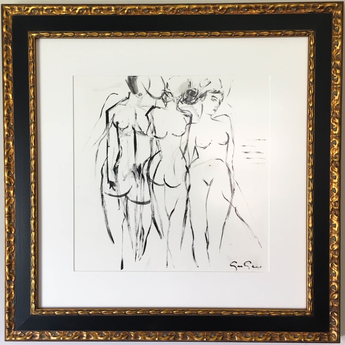 gee-gee-collins-framed-figure-study