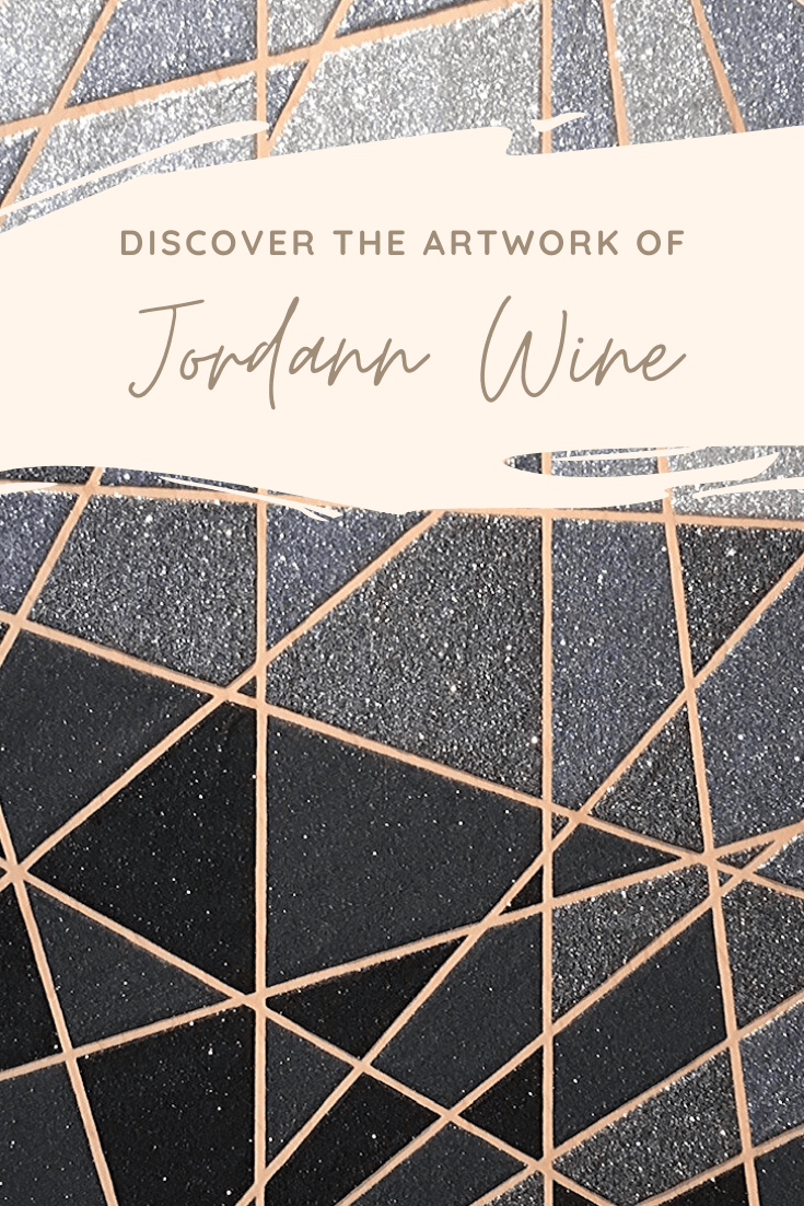 Infinite Glitter: Contemplating the Cosmic Creations of Jordann Wine