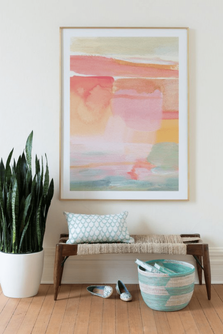 Color Spotlight: Coral and Peach (Shop These Summer Inspired Art Looks!)