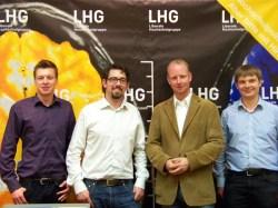 v. l.: Lucas Schaal, Alexander Schopf, Dr. Timm Kern MdL, Kai Vollbrecht
