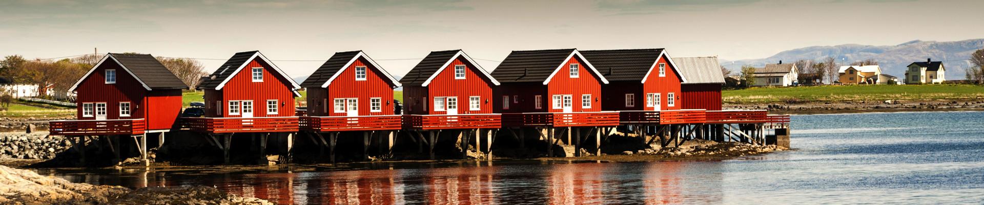Maisons en bois Norvège