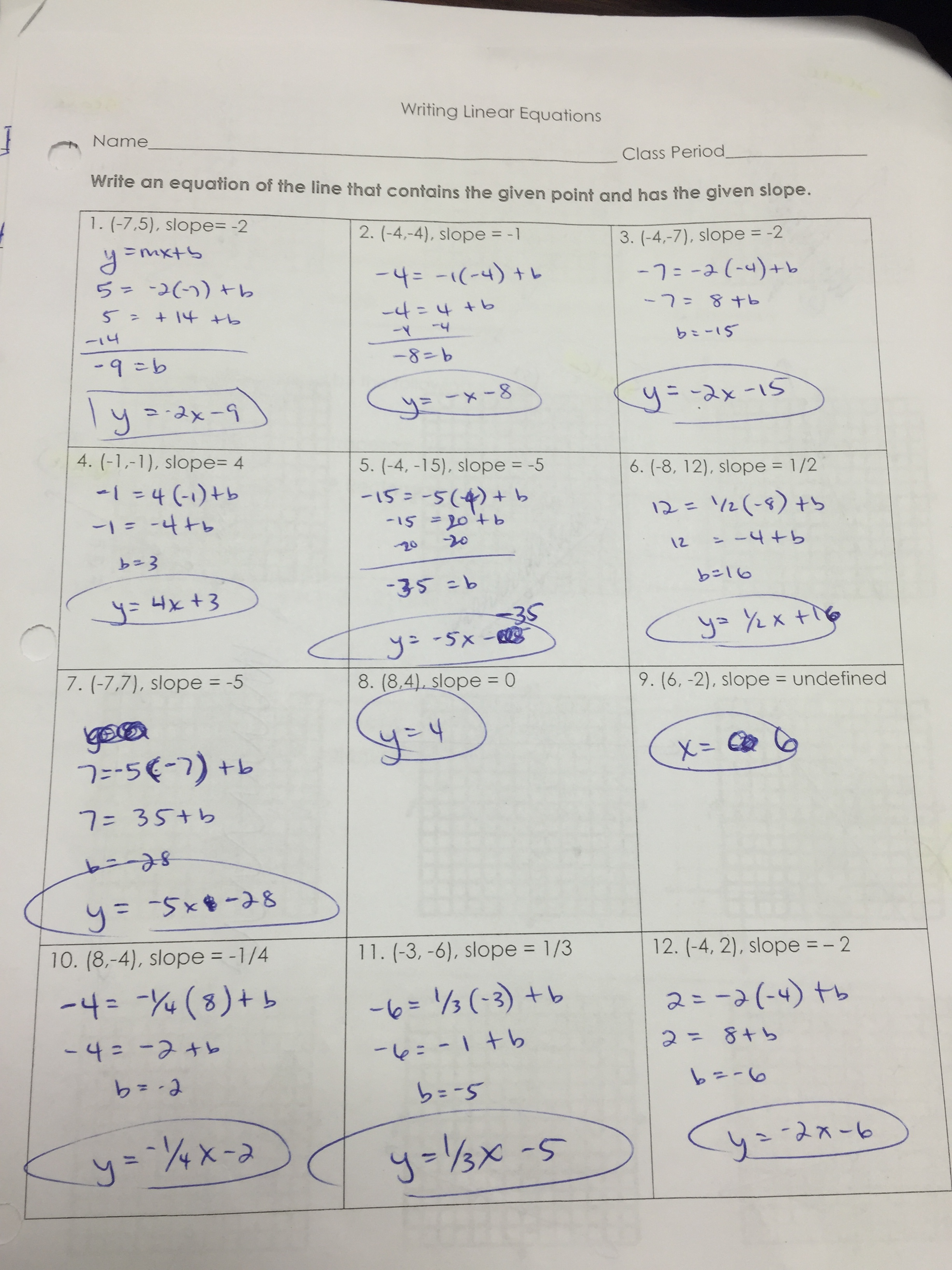 Gina Wilson All Things Algebra Answer Key Unit 6