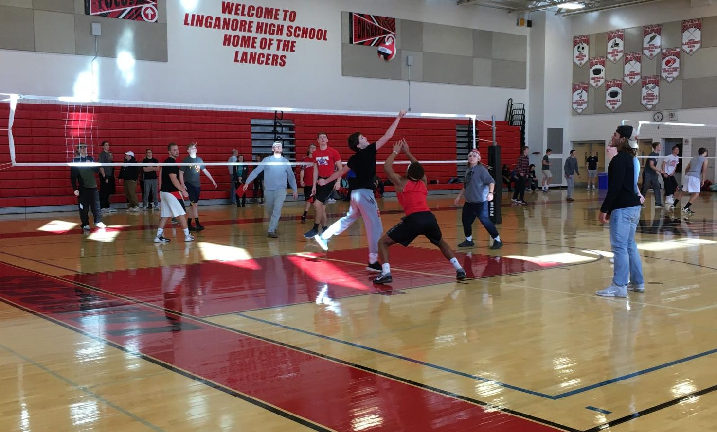 Ssl Students Play Volleyball For Learning For Life Program