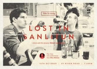 Lost In Sanlitun Event Poster