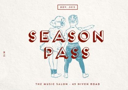 The Music Salon Season Pass (November)