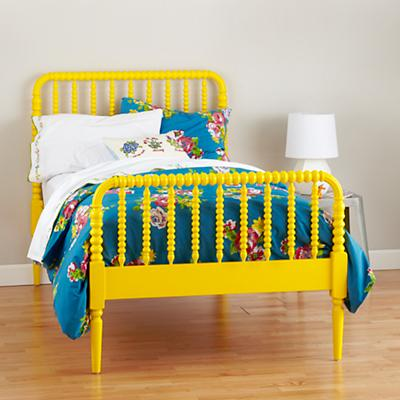 The Land of Nod Jenny Lind Bed (Yellow)