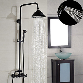 oil rubbed bronze shower faucets