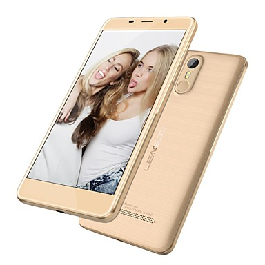 "LEAGOO M8 5.5 "" Android 6.0 3G Smartphone (Dual SIM Quad Core 13 MP 2GB + 16 GB Black Gold)"