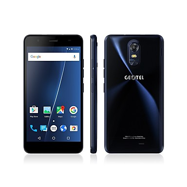 "Geotel Note 5.5 "" Android 6.0 4G Smartphone (Dual SIM Quad Core 8 MP 3GB + 16 GB Gold Blue)"
