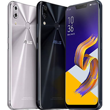 "ASUS ZenFone 5 ZE620KL Global Version 6.2 pulgada "" Teléfono móvil (4GB + 64GB 8 mp / 12 mp Snapdragon 636 3300 mAh mAh) / Doble cámara"