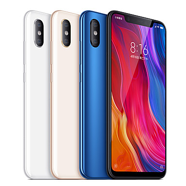 "Xiaomi MI8 Global Version 6.21 inch "" 4G Smartphone ( 6GB + 128GB 12+12 mp Snapdragon 845 3400 mAh mAh ) / Dual Camera"