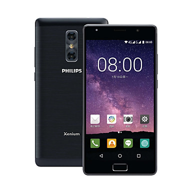 "PHILIPS Philips X598 4+64 5.5 inch "" 4G Smartphone ( 4GB + 64GB 5 mp / 13 mp MediaTek MT6750T 4000 mAh )"