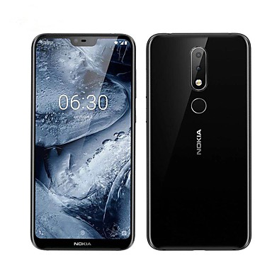 "NOKIA nokia X6 5.8 inch "" 4G Smartphone (4GB + 64GB 5 mp / 16 mp Snapdragon 636 3060 mAh mAh)"