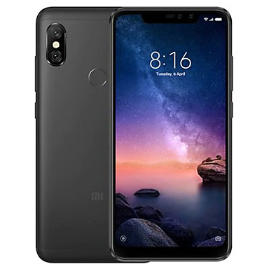 "Xiaomi Redmi note6 pro Global Version 6.26 inch "" 4G Smartphone (4GB + 64GB 5 mp / 12 mp Snapdragon 636 4000 mAh mAh) / Dual Camera"